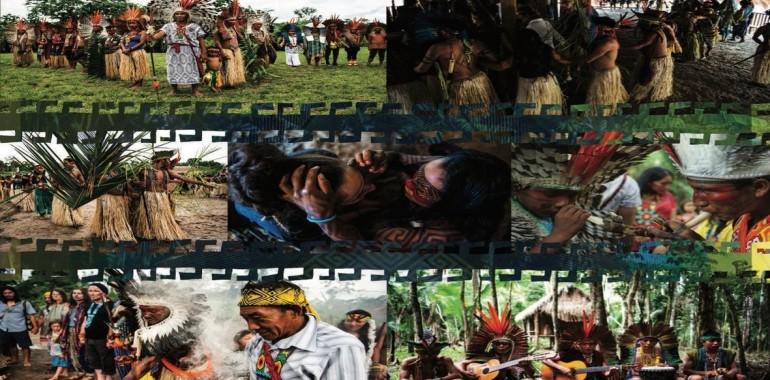 Sveti Krog Zdravilnih Pesmi Ob Ognju Z Indijanci Huni Kuin