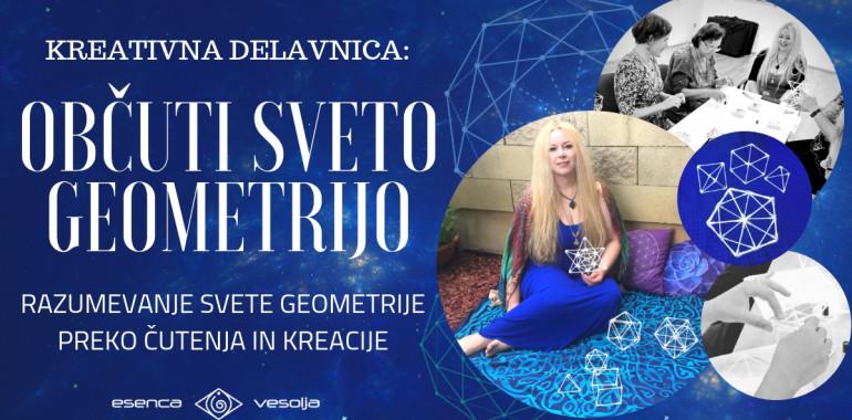 Kreativna delavnica: Občuti Sveto Geometrijo (v Kopru)