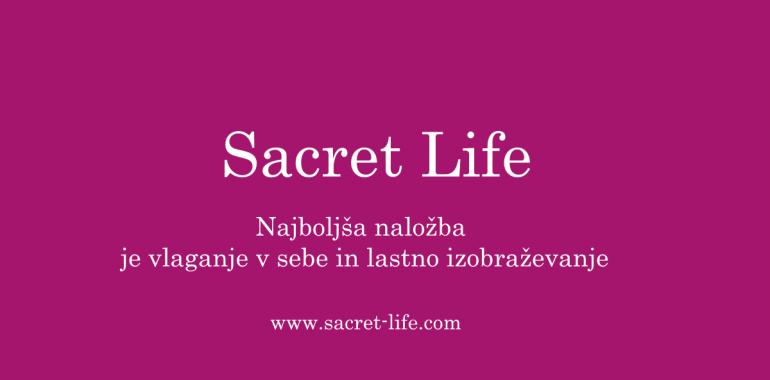 Sacret Life, najboljša naložba v osebni razvoj in izobraževanje