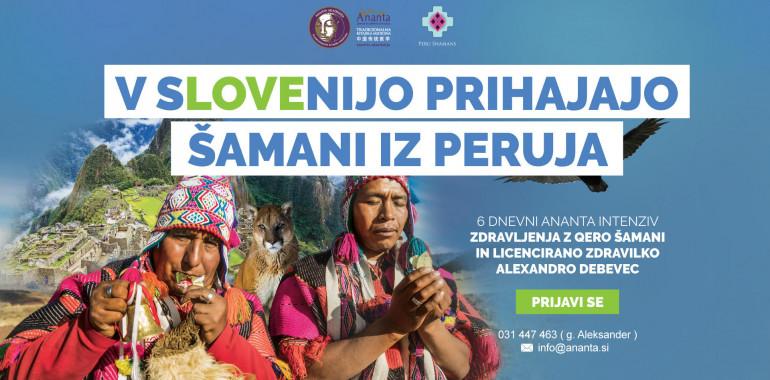 Alexandra Debevec v Slovenijo pripelje Andske Šamane iz Peruja