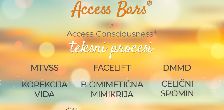 Access Bars In Access Consciousness telesni procesi