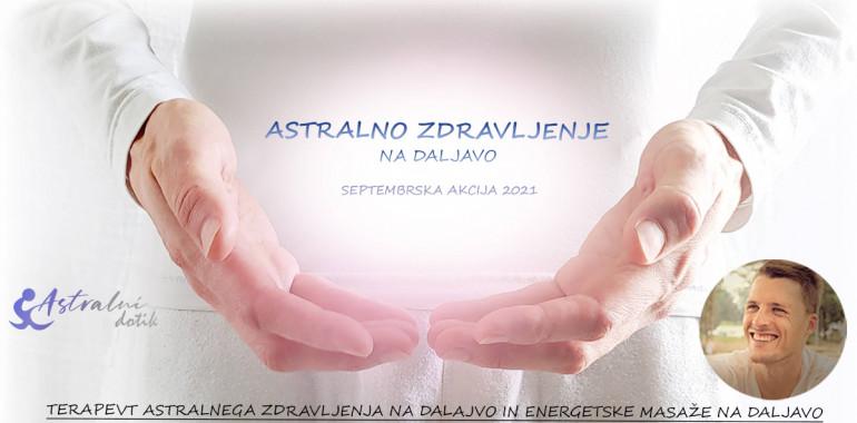 Astralno zdravljenje - Energijska terapija na daljavo