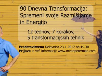 90 Dnevna Transformacija: Spremeni svoje Razmišljanje in Energijo