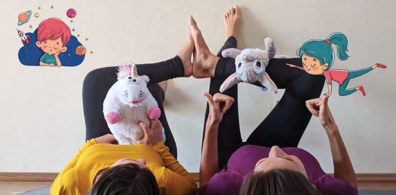 Joga & Meditacija MALČKI (4-6 let) - REDNE VADBE