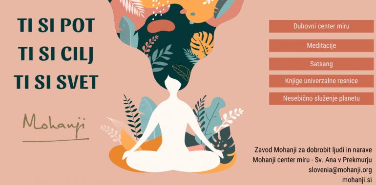 Mohanji Center miru, učenja in tehnike duhovnega učitelja Mohanjija