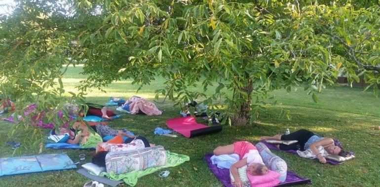 Terapevtska joga in zvočna kopel - Breg pri Žirovnici