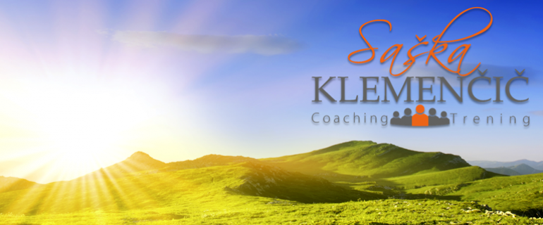 Saška Klemenčič, coaching trening