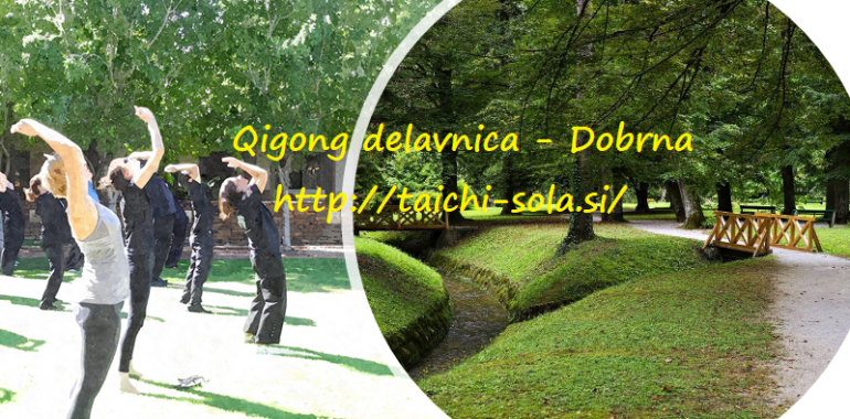 Jesenska qigong delavnica Dobrna