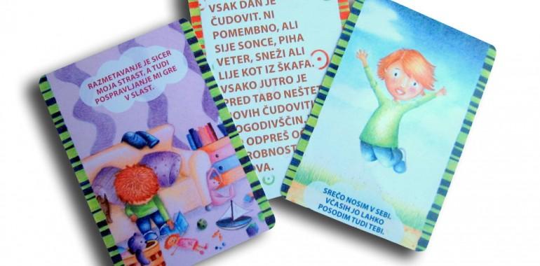 Afirmacijske karte za otroke Tvoj čarobni svet