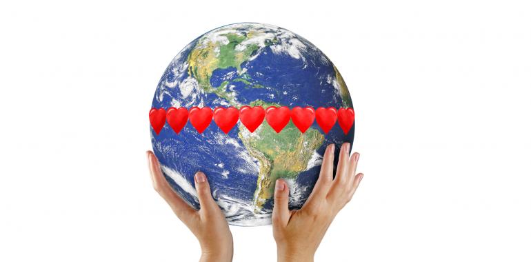 Brezplačna Skupinska Meditacija Ljubezni: pošlji ljubezen in ustvari nov svet
