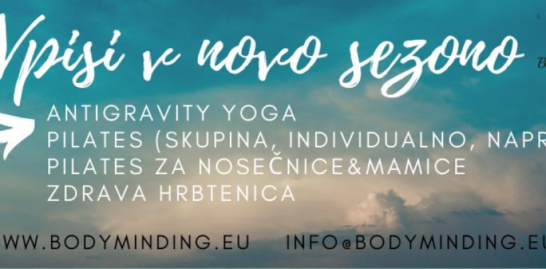 Body Minding, Pilates in AntiGravity vadbe