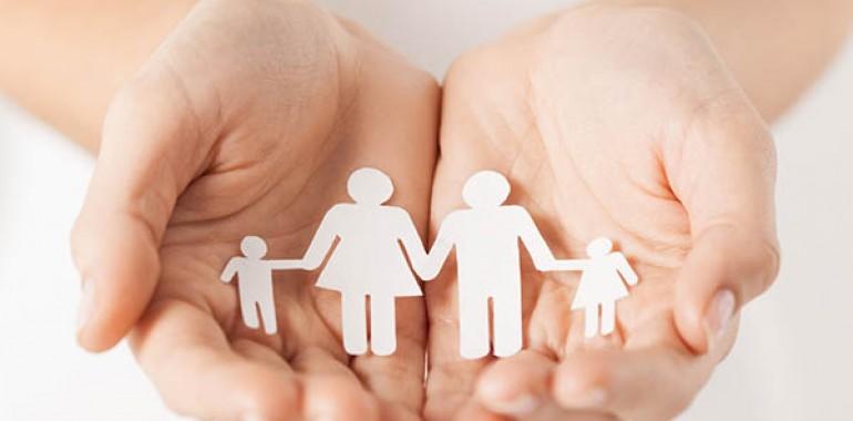 Pomoč družinam ali postavitev družine