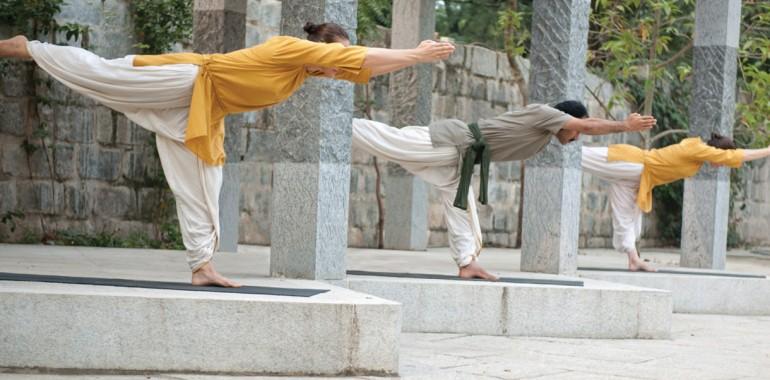 Delavnica Yogasan