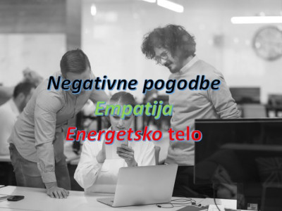 Negativne pogodbe - Empatija - Energetsko telo