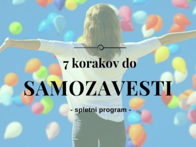 7 korakov do samozavesti - spletni program