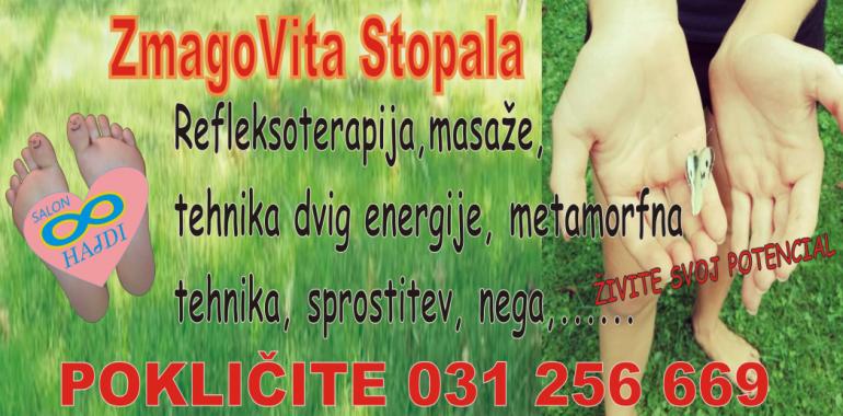 Salon Hajdi, sprostitev, terapije, refleksoterapija, meditacija , svetovanje, masaža,...